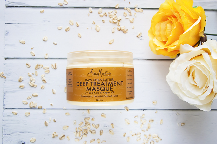 SheaMoisture Raw Shea Butter Deep Treatment Masque maska do włosów
