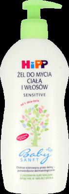 Delikatne szampony bez SLS