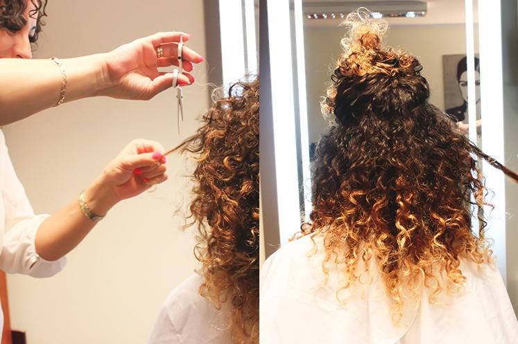 fryzjer do włosów kręconych