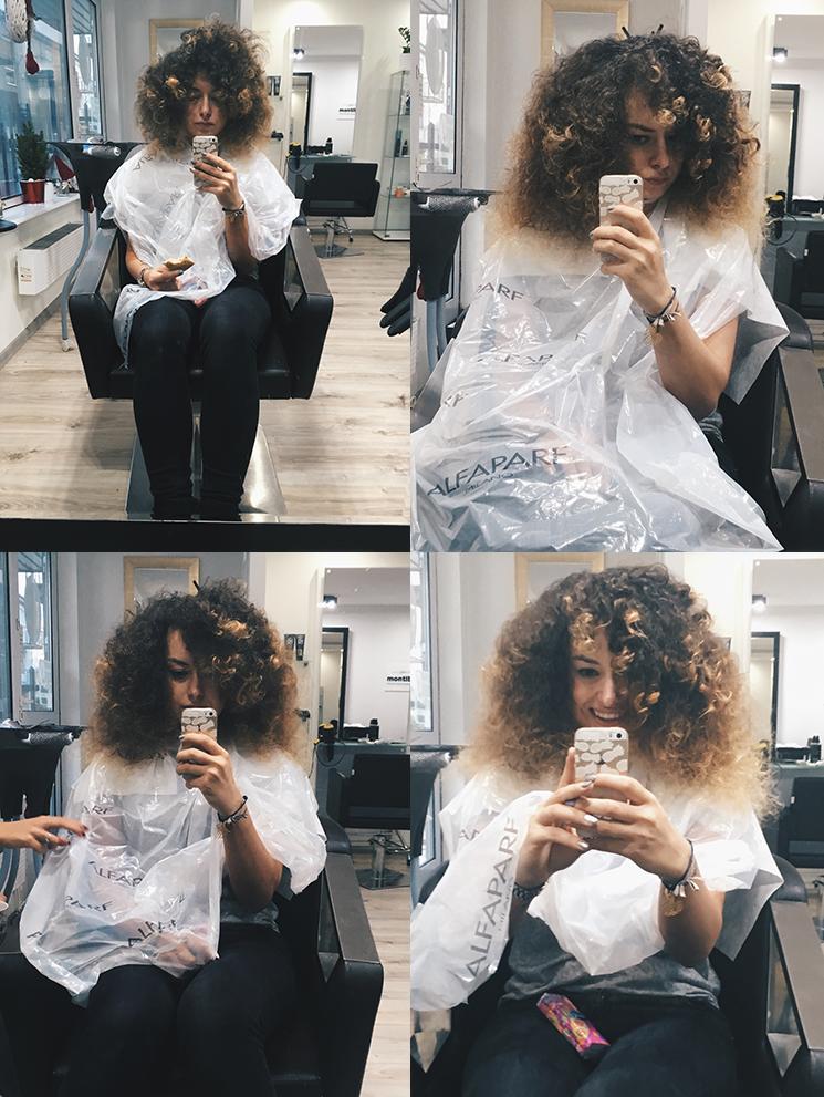 Zalety i wady rozjaśniania kręconych włosów, rozjaśnianie kręconych włosów