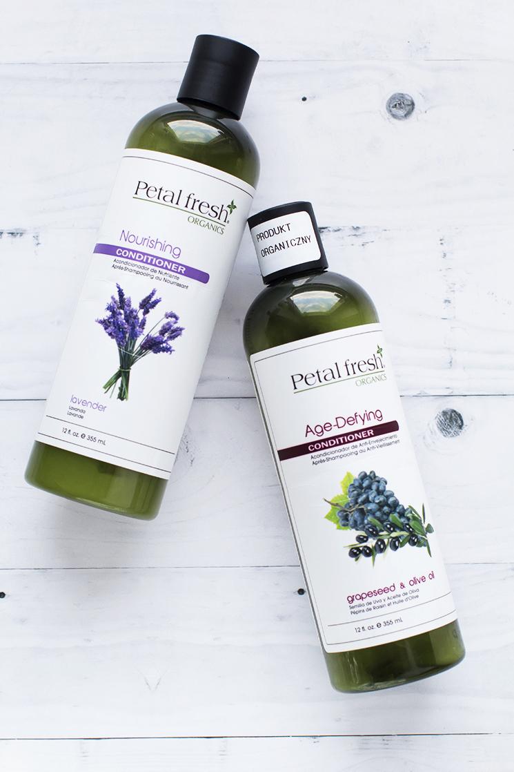 Petal Fresh Nourishing Lavender, Petal Fresh Lavender, Petal Fresh Age-Defying Grapeseed & Olive Oil, Petal Fresh Grapeseed i olive oil, kręcone włosy
