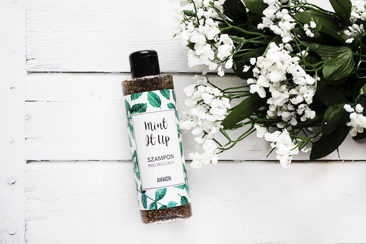 Anwen Mint It Up szampon peelingujący