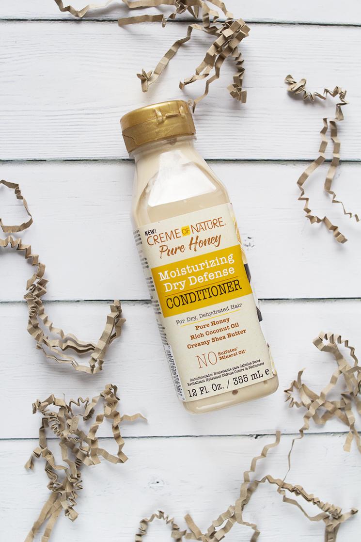 creme of nature pure honey conditioner